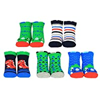 Cucamelon D is For Dinosaur 5 Pairs of Socks 1-2 Years Toddler Giftboxed