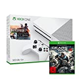 Xbox One S 500 GB Konsole inkl. Battlefield 1 + Gears of War 4