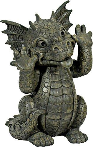 Gargoyle Gartendrache schneidet Grimasse Drachenkind Deko Drache Gartendrache 1756118 (Drachen Figuren)