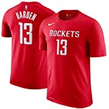 Nike NBA Houston Rockets James Harden 13 2017 2018 Icon Edition Jersey Official Name & Number,...