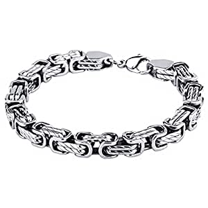 stylemakerz length online jewelry color gift s products wholesale boy store size customize mens stainless bracelet tone boys silver steel