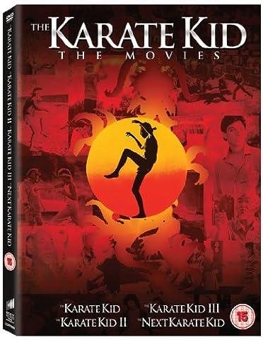 The Karate Kid 1 To 4 Box Set [DVD]