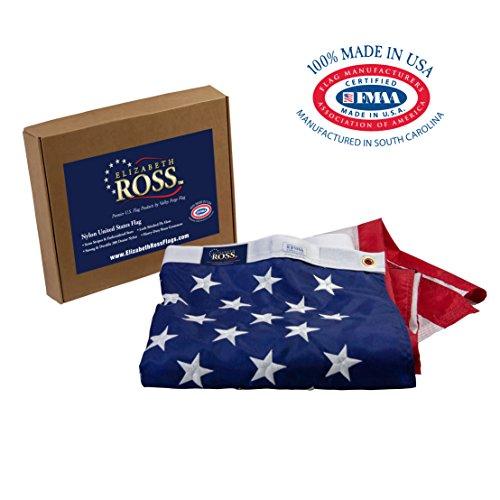 Valley Forge Flag Elizabeth Ross American Flagge 5' x 8' Rot/Weiß/Blau -