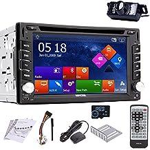 EinCar Nueva pantalla táctil capacitiva de pantalla táctil 6.2inch 2 DIN en el reproductor de DVD del coche de la rociada Monitor LCD con radio de DVD / CD / MP3 / MP4 / USB / SD / AM / FM / RDS / Autoradio Bluetooth / Stereos sistema Auto Audio GPS Navigation SAT NAV Win 8 UI Design + tarjeta de mapa GPS de 8GB