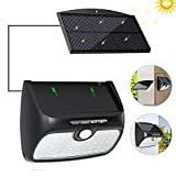 Babacom Solar Lights Outdoor, [Detachable Solar Panel] [48 LED Super Bright] Solar Security Lights Motion Sensor 120° Wall Lights with 3 Modes for Garden, Patio, Fence, Yard Indoor & Outdoor