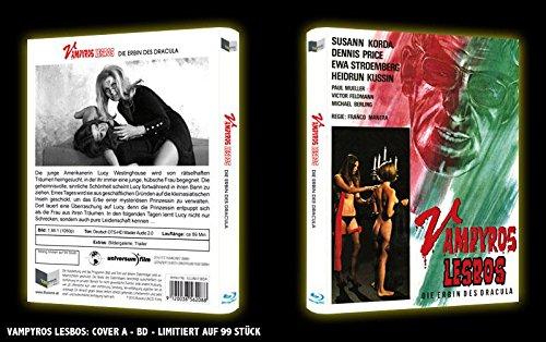 Jess Franco Collection VAMPYROS LESBOS - Die Erbin des Dracula LIMITED HARTBOX BLU-RAY EDITION 99 Stück