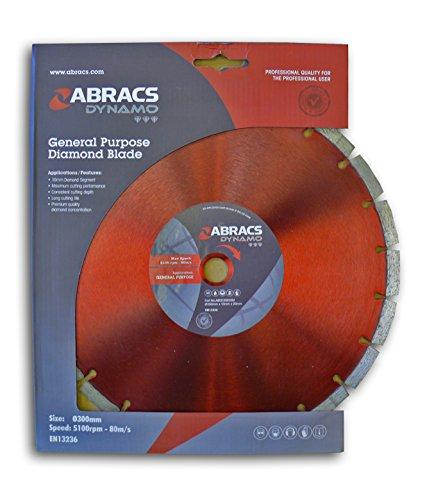 Abracs Poly-Schleifscheibe 115 x 22 x 10 mm, Diamantscheibe Dynamo Satteldecke G.P. (1 Stück)