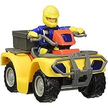 Sam El Bombero - Quad Mercury, figura con accesorios, color amarillo / rojo (Simba 9257657)