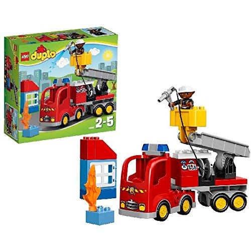 LEGO Duplo - El camión de bomberos, multicolor (10592)