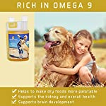 ACTIF PETS Flaxseed Oil for Dogs-Rich in Omega 3, 6 & 9 for Dry, Itchy Skin/Coat. A Natural Dog Supplement for Stiff… 12