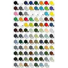 5 Botes de pintura acrílica Tamiya serie X- XF (a elegir de la carta de colores)