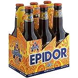 Moritz Epidor Cerveza - Paquete de 6 x 330 ml - Total: 1980 ml