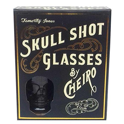 er 4er Set 3D getöntes Glas in Geschenkverpackung Temerity Jones ()