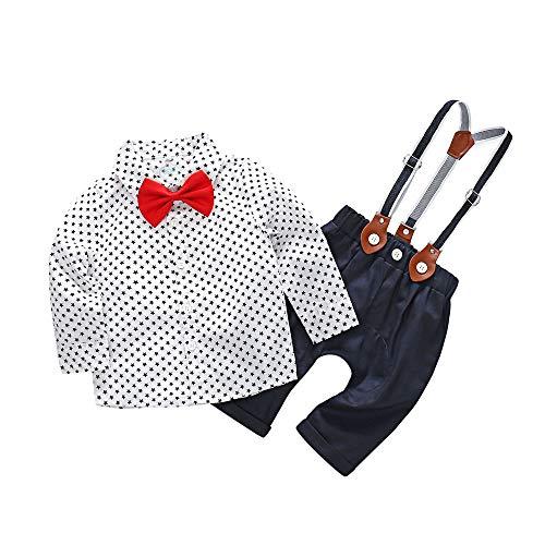 Amlaiworld Infantil Recién Nacido Bebé niños Estrellas Camisetas de Caballero Tops Camisas...