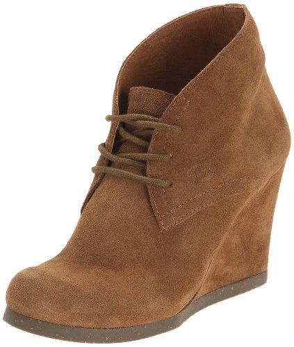 Scholl Griel, Chaussures à lacets femme Marron