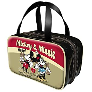 Mickey Minnie Bolsa Aseo Doble Telephone