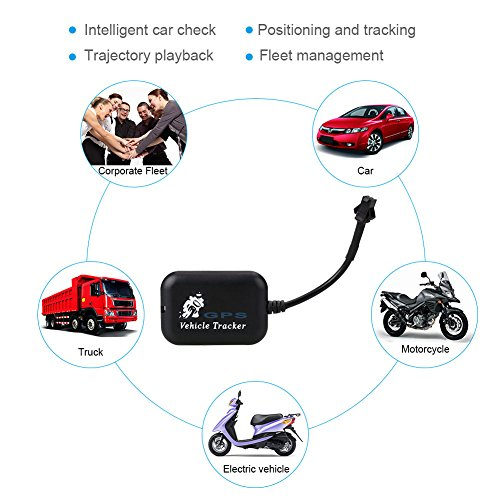 Sedeta Localizador de localizador de GPS de motocicleta de coche Tiempo de Android Seguimiento real de Mini LBS GSM GPRS 4 bandas Seguimiento Seguidores de Antitheft