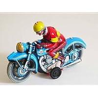 Blechmotorrad Einfach Blechspielzeug Motorrad Mit Beiwagen Zum Aufziehen
