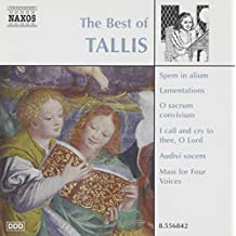 The best of tallis tallis (the best of)