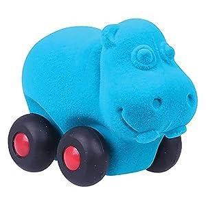 """Rubbabu 20179 """"Aniwheel - Peluche de hipopótamo (tamaño Grande)"""