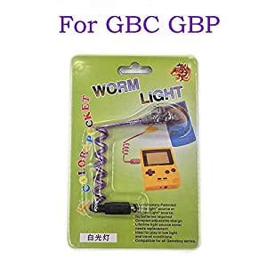 Worm Light Illumination LED Lampen für GBC GBP für Nintendo Gameboy Color Gameboy Pocket Console Worm Light