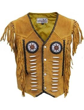 Western-Lederweste Indianer Trac