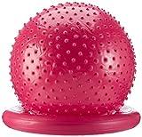 Carnegie Massageball Ø 55 Noppenball Gymnastikball Sitzball + Ballschale & Pumpe