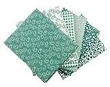The Craft Cotton Fat Quarters Patchworkstoffpaket,
