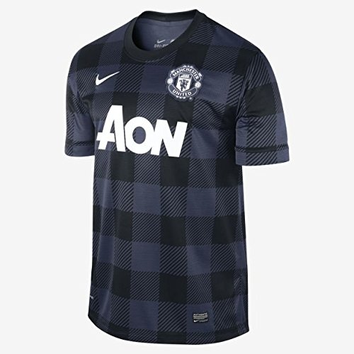 Nike 2013-14 Man Utd Away Football Shirt (Kids)