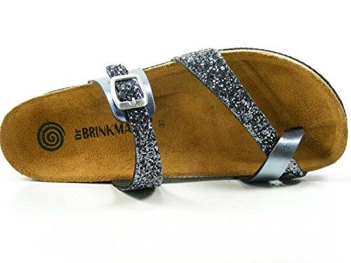 Dr.Brinkmann 701127 femme clogs & mules Grau