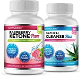 Raspberry Ketone and Colon Cleanse Detox Combo - UK Manufactured High Quality Supplement