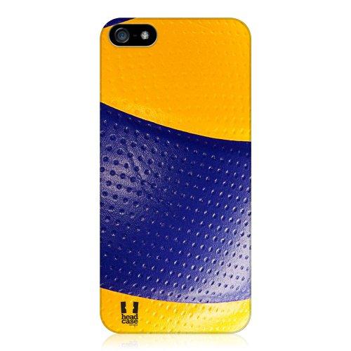 Head Case Designs Volleyball Ball Kollektion Harte Rueckseiten Huelle kompatibel mit iPhone 5 iPhone 5s iPhone SE