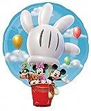 Unbekannt Anagram 1829801 - Party und Dekoration - Folienballon SuperShape - Disney Mickey Mouse im Heißluftballon, circa 71 x 58 cm