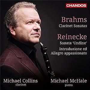 Clarinet Sonatas [Michael Collins; Michael McHale] [CHANDOS: CHAN 10844]