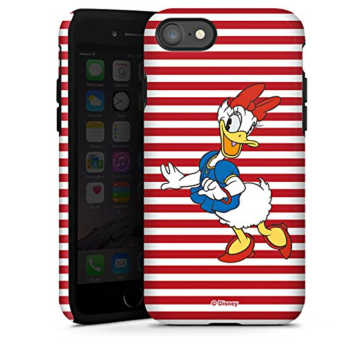 Apple iPhone X Silikon Hülle Case Schutzhülle Disney Daisy Duck Fanartikel Merchandise Tough Case glänzend