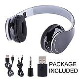 VBESTLIFE Drahtloser Game Kopfhörer,faltbarer Wireless 4.1 Kopfhörer Headset Hifi Stereokopfhörer für PS4