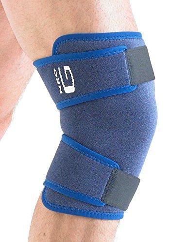 Neo G geschlossen Kniebandage-One Size, Unisex, Medical Grade, hochwertige verstellbare Unterstützung, Klammer hilft Unterstützung Verletzte, geschwächte, arthritische Knie, Zerrungen, Verstauchungen, Instabilität, Schmerzen, Schmerzen, Steifheit, Recovery, Rehabilitation, Alltag Unterstützung und Wärme