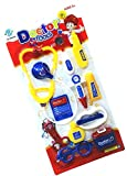 #9: Happy GiftMart Pretend Role Play Doctor Set for Kids and Toddlers (12 Pieces)