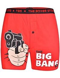 Happy GiftMart The Big Banger Funny Slogan Boxer Fun Boxer Shorts. Men's Boxer Boxers Shorts