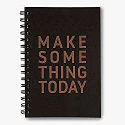 Instanote Make Some Thing Today - Daily Planner Notebook - A5 Size