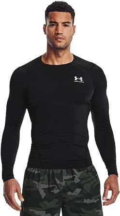 Under Armour UA HG Armour Comp Ls T-Shirt à Manches Longues Anti-Odeur, Vêtement de Sport pour Homme Homme