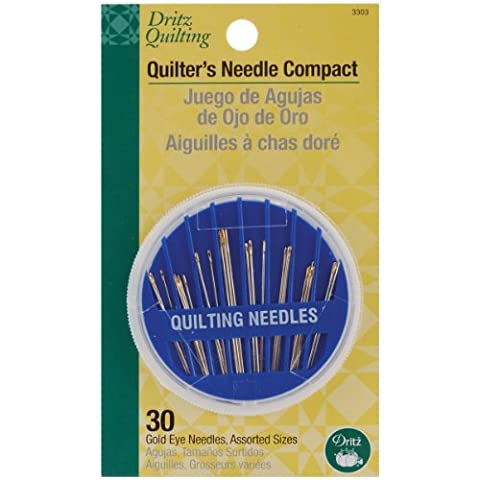 Dritz Quilting Needle Compact, 30 Count