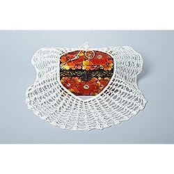 Cuello postizo hecho a mano collar artesanal bisuteria fina original estilosa