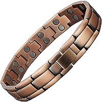 CS26 Herren-Magnet-Armband für Arthritis, Größe L, XL, kleine Größe, Heilung, Therapie, Arthritis-Armband zur... preisvergleich bei billige-tabletten.eu