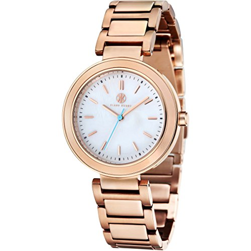 Klaus Kobec KK-10002-02 Ladies Daisy Rose Gold Plated Watch