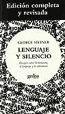 Lenguaje y silencio par Steiner