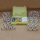 Malloom® Química Orgánica Científico Atom Molecular Modelo Enseñe Clase Kit Set