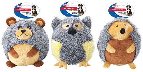 ethical-product-butterballs-forest-animals-jumbo-dog-toy-cuddly-plush-ball-8