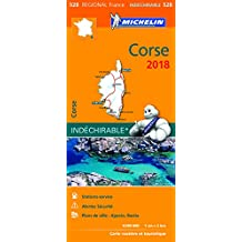 Carte Corse Michelin 2018