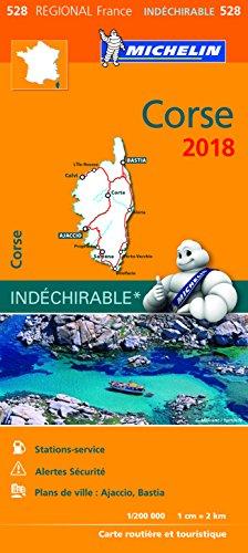 Carte Corse Michelin 2018 par Michelin